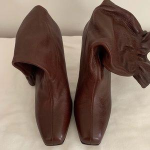 "Cole Haan Sz.9 Nike Air ""Gali"" Brown Short Boot"